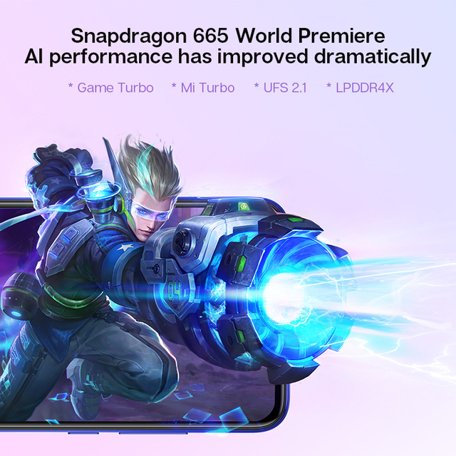 Global Version Xiaomi Mi A3 MiA3 4GB 64GB Mobile Phone Snapdragon 665 48MP Triple Cameras 32MP Front Camera 6.088 AMOLED Display 2