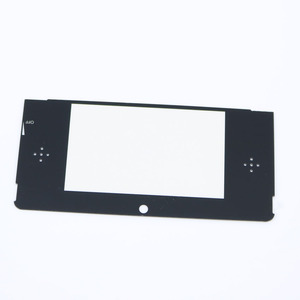 Image 2 - 2pcs Top Front LCD Screen Protector Plastic Cover Lens Replacement for Nintendo 3DS