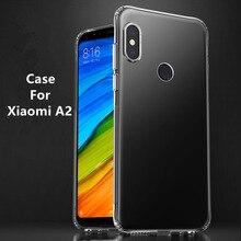 Silicone Soft TPU Transparent Case For Xiaomi A2 5.99inch SDM660 High Quality Cover Cases 6X MiA2