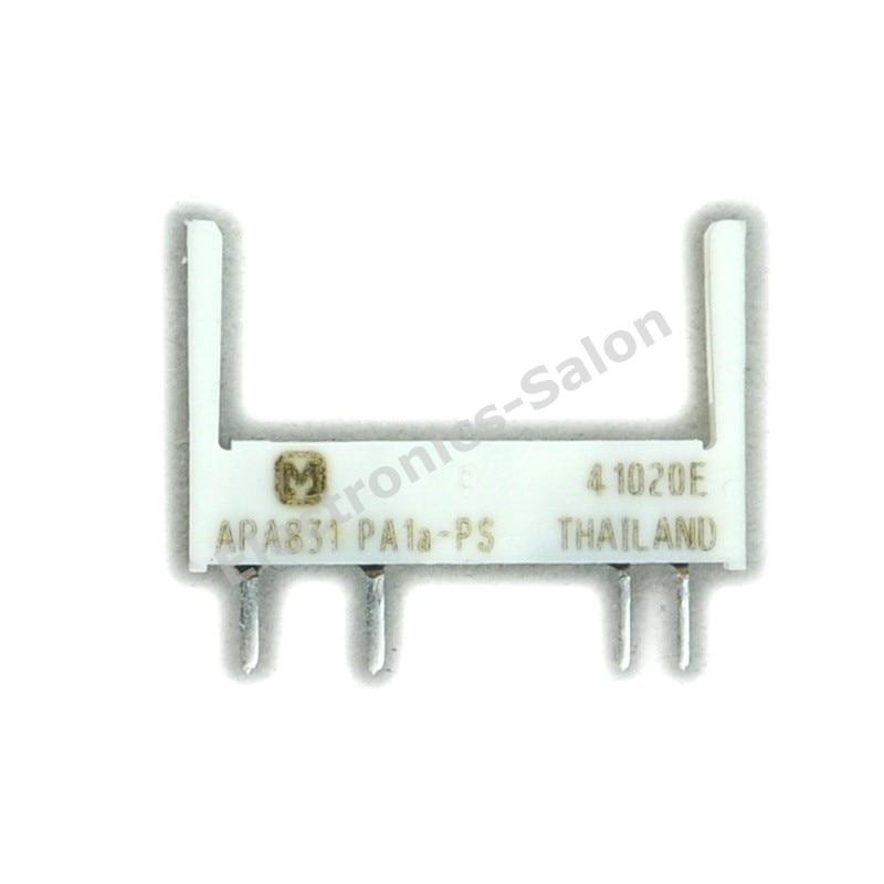 ( 100 Pcs/lot ) PA1a-PS APA831 Relay Socket, For PA1a-5 6 9 12 18 24V Slim Relay