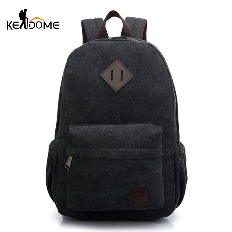 HOT Canvas School Backpack for Teenage Girls Boys Outdoor s