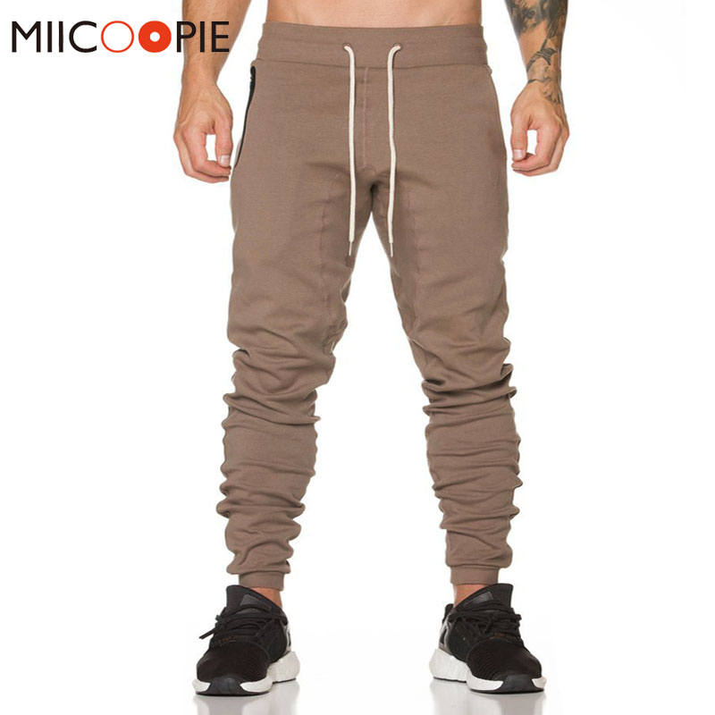 2018 Spring Casual Harem Pants Mens Pocket Zipper Casual Pants Breathable Hip Hop Cargo Ripped Slim Sweatpants Joggers Trousers