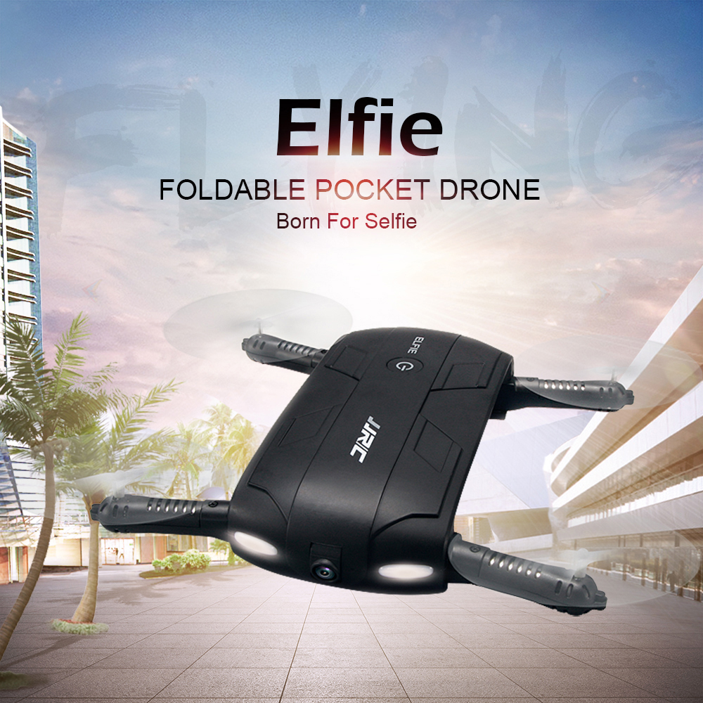 JJRC H37 WIFI FPV Mini Drone ELFIE 4CH 6-Axis Gyro RC Quadcopter with HD Camera Foldable G-sensor RC Dron Helicopter jjrc jj810 2 4g 4 channel 6 axis mini rc quadcopter gyro aerocraft with led