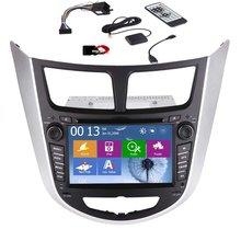 SPECIAL CAR DVD Stereo WITH GPS FOR HYUNDAI VERNA 2010-2015 Suits for Hyundai Verna GPS Navigation Bluetooth Car Radio FM AM mp3
