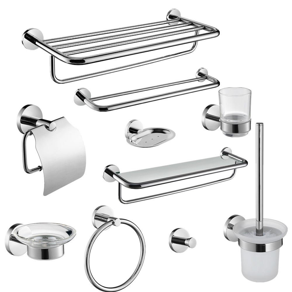 Auswind Modern 304 Stainless Steel Silver Polished