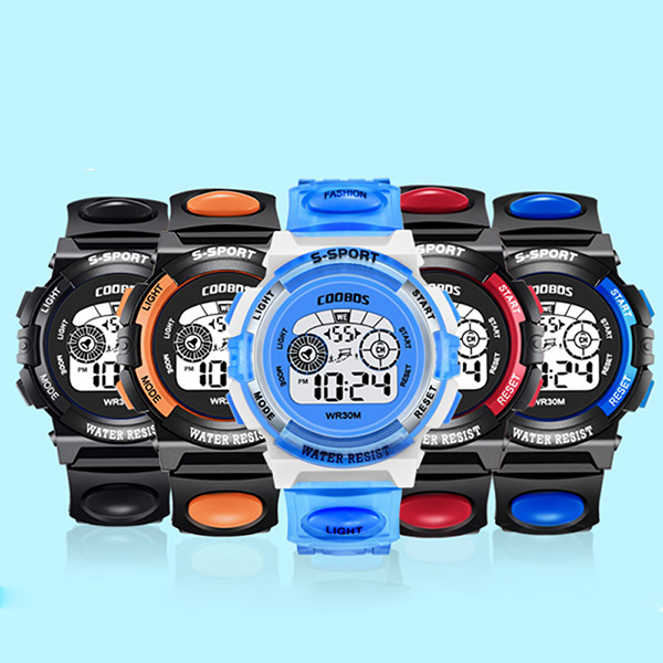 Special Section #5001waterproof Children Girls Digital Led Quartz Alarm Date Sports Wrist Watch Dropshipping New Arrival Freeshipping Hot Sales Back To Search Resultswatches