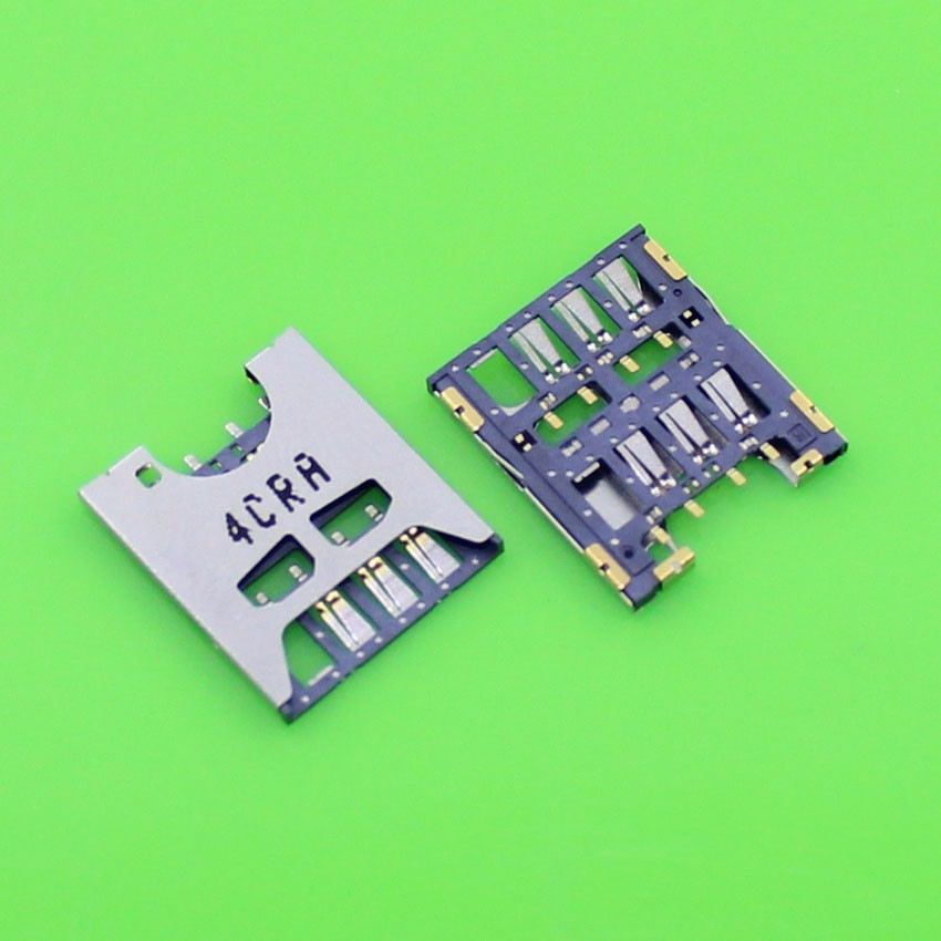 5pcs/lot Brand New For HTC Desire 510 Sim Card Reader Module Slot Tray Holder Socket Replacement Part .