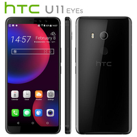 Original NEW HTC U11 EYEs 4G LTE Mobile Phone Dual SIM 6.0 4GB RAM 64GB ROM Snapdragon 652 Octa Core IP67 Android Callphone NFC
