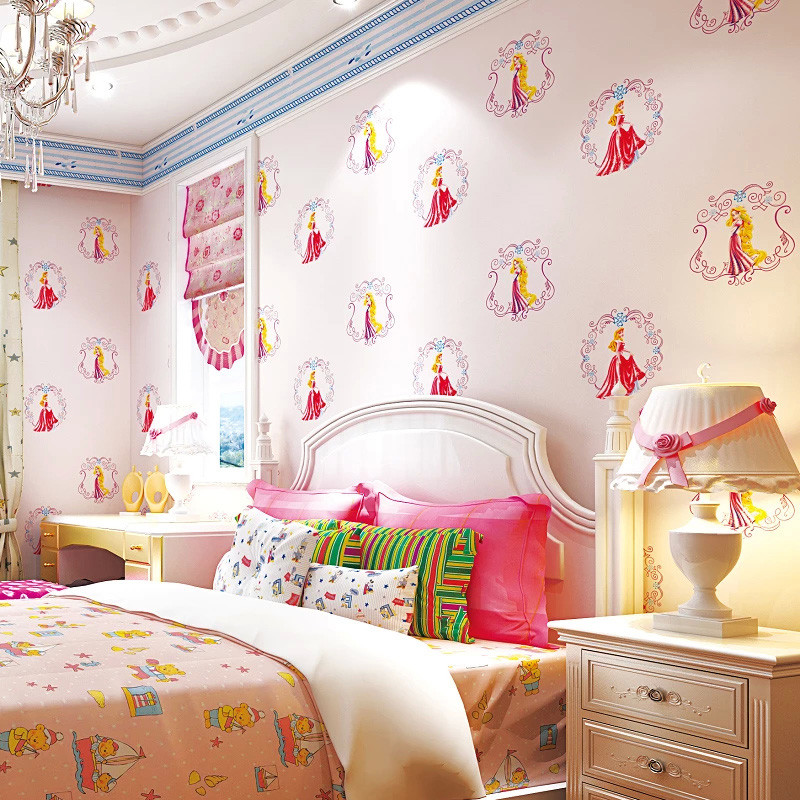 Mediterranean Cartoon Wood Striped Kids Room Wallpaper For: Online Buy Wholesale Shop Wallpaper From China Shop