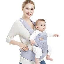 4 위치 360 코튼 인체 공학적 베이비 캐리어 유아용 백팩 0 36 개월 어린이 베이비 캐리지 유아용 슬링 랩 멜빵