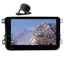 for Volkswagen Camera+Android 6.0 2Din Car DVD Player GPS Navigation Car Stereo Radio Autoradio for PASSAT B5/MK5/VW GOLF/JETTA