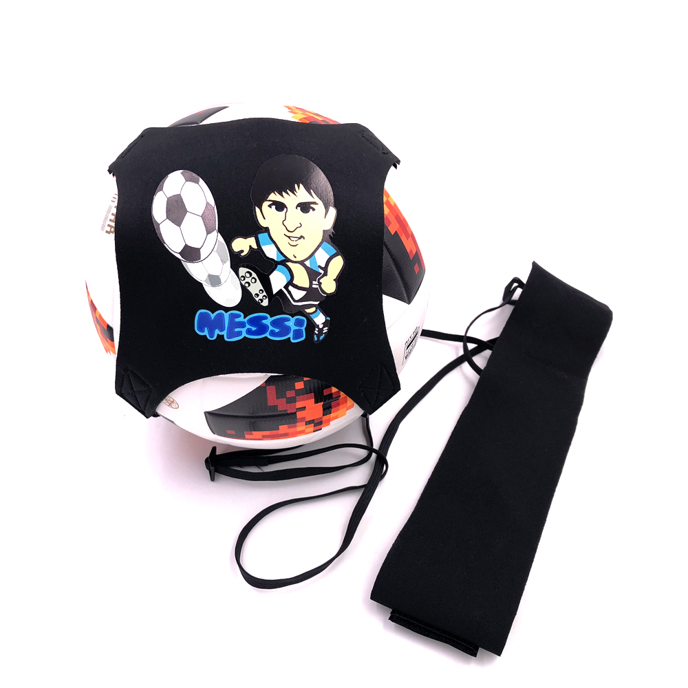 Soccer Trainer Messi 10 Football Kick Throw Trainer Ball Solo Practice Training Aid Helps Control Skills Adjustable Waist Belts