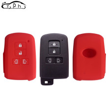 4 Buttons Silicone Remote Car Key Cover Fob Case Holder for Toyota Sienta Alphard Voxy Noah Esquire Vellfire Harrier Accessories(China)