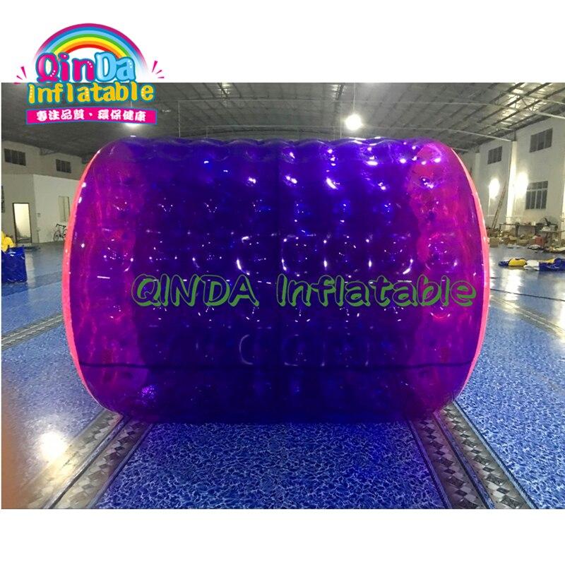 Boule gonflable de rouleau de l'eau de boule de l'eau de promenade de piscine extérieure de parc aquatique pour des jouets de natation d'été