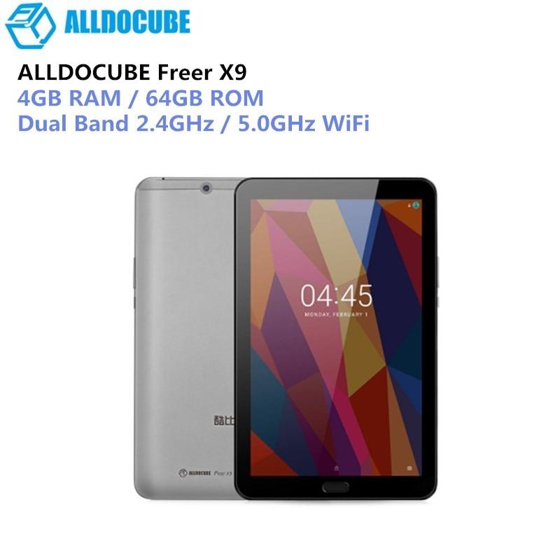 ALLDOCUBE U89 Plus Libre X9 Comprimés PC 8.9 pouces 2560*1600 IPS Android 6.0 MT8173V Quad core 4 GB Ram 64 GB Rom 13MP Double Wifi 2.4G/5G