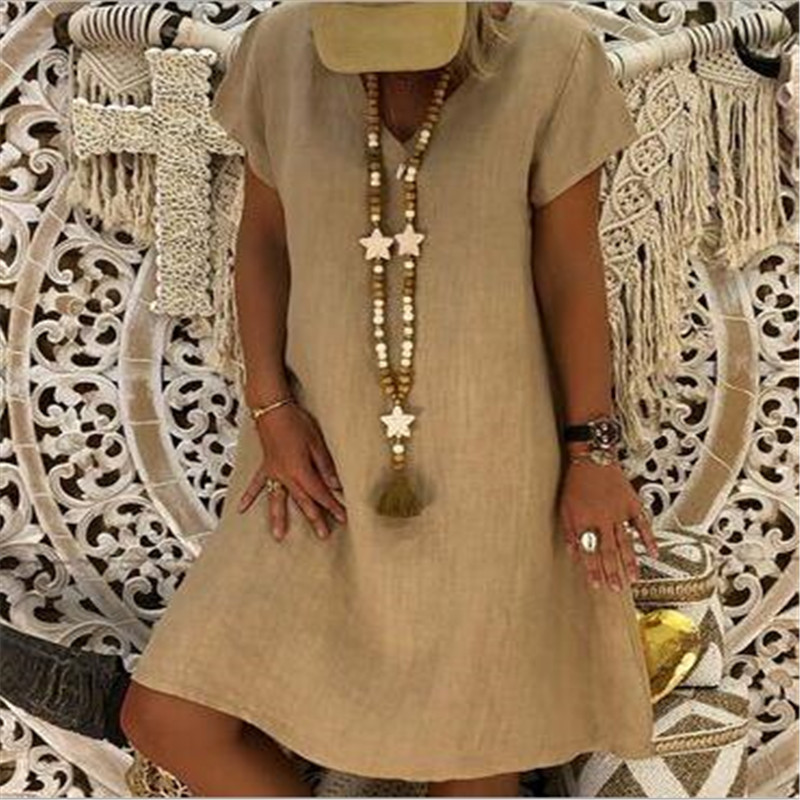 Vintage Solid Color Dress Summer Women Sexy Short T Shirt Dress Evening Party Elegant Club Dresses Vestido