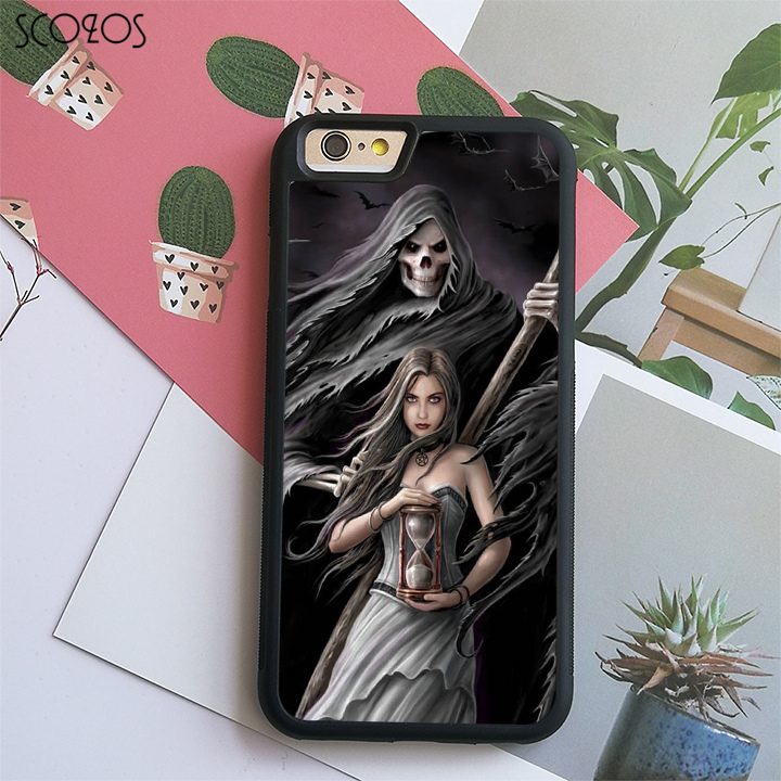 SCOZOS anne stokes (12) phone case cover for iphone X 4 4s 5 5s Se 5C 6 6s 7 8 6&6s plus ...