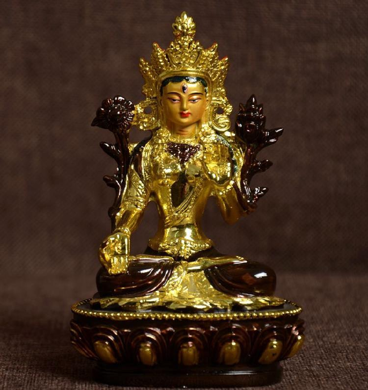 Box-Wood Carving Chinese Ksitigarbha Dizang Buddha Hand Statue Beads Car Pendant