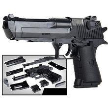 Diy montagem bloco de construção arma brinquedos pistola rifle crianças plástico 3d miniatura arma modelo para meninos cs jogos brinquedo educativo