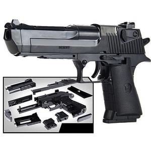 Image 1 - DIY Assembling Building Block Gun Toys Pistol Rifle Children Plastic 3D Miniature Gun Model For Boys CS Games Educational Toy
