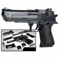 DIY Assembling Building Block Gun Toys Pistol Rifle Children Plastic 3D Miniature Gun Model For Boys CS Games Educational Toy