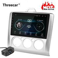 New Quad core 9 HD Android 8 Car Radio GPS Navigation System Multimedia Player For 2005 2011 Ford Focus CAR ANDROID WIFI Player