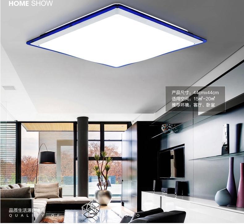 Free Ship Acrylic LED Ceiling Lamp Living Room Modern