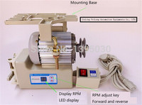 1pc energy saving servo motor 220V for Industrial sewing machine 400W