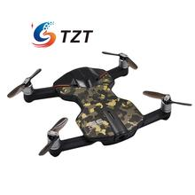 Wingsland S6 Pocket Selfie WiFi FPV Drone Quacopter 4 Axis with 4K HD Camera Propeller RTF Camouflage