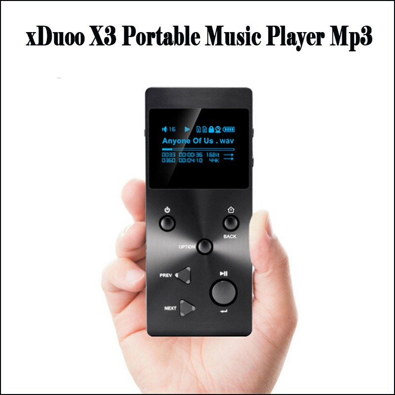 xDuoo X3 Hi FI Mp3 Player Portable Lossless Music DAC Player Mp3 Hi-res Flac Player Mp3 with Screen купить в Москве 2019