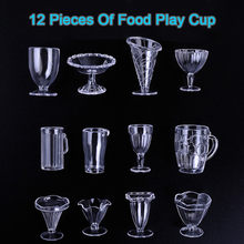Diy Food Play Accessories Mini Simulation Cup Plasticine Tool Miniature Food Toy(China)