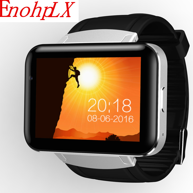 EnohpLX 3G Android Watch Smart GPS Sports Smart Watch with Heart Rate Monitor Pressure for Android 4.4 IOS garmin fenix 5s sapphire 42mm sports gps heart rate watch with compass