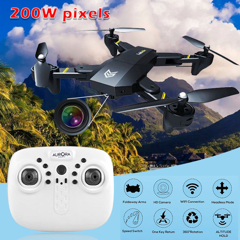 S25 FPV drone foldable Aircraft with WIFI camera 4 Axis HD 2MP 120 degree wide angle RC Quadcopter Helicopter Headless kid toys jjr c jjrc h43wh h43 selfie elfie wifi fpv with hd camera altitude hold headless mode foldable arm rc quadcopter drone h37 mini