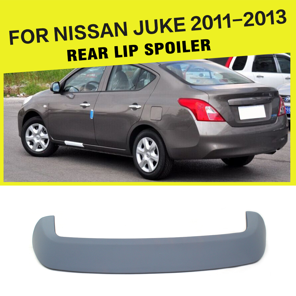 ABS Gray Primer Car rear Spoiler Rear Wings for Nissan juke 2011-2013