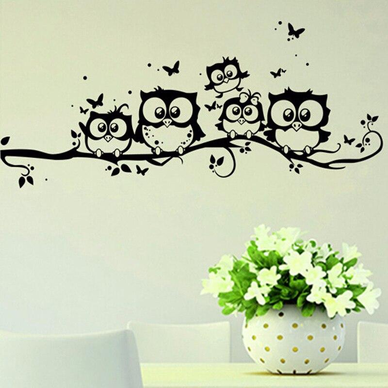 unids negro bho pegatinas de pared para tv de fondo tatuajes de pared d d