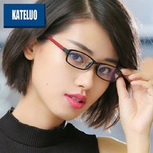 KATELUO 2020 Women Computer Goggles Anti Blue Light Laser Fatigue Radiation resistant Glasses Eyeglasses Frame for Women 13021