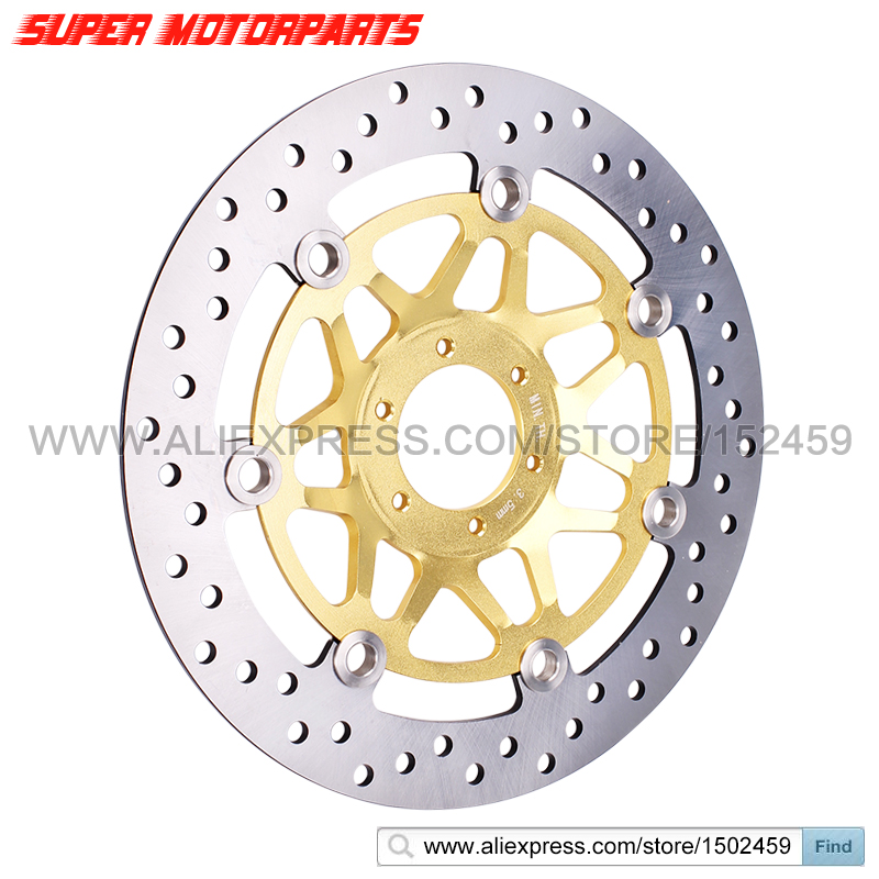 1 piece Motorcycle Front Left Brake Disc Rotor Brake Disk For Honda VTEC400 CB400 1999-2012 VTEC for honda cb400 vtec cb 1 vrx400 cb750 1300 modified chrysanthemum motorcycle rear brake disc plate