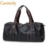 Duffle Leather Weekender Travel Bag