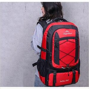 Image 2 - 75л водонепроницаемый мужской рюкзак унисекс, дорожный рюкзак, спортивная сумка для отдыха на природе, альпинизма, альпинизма, рюкзак для мужчин