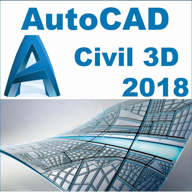 AutoCAD Civil 3D 2018 multi languages for win7/8/10 64 bits AutoCAD_Civil_3D_2018 george omura mastering autocad for mac