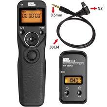 Pixel TW283 TW 283 N3 Minuterie Sans Fil Télécommande Pour Canon 7D 5D Mark ii 1D 6D 7D2 5D3 50D 40D 30D 10D Caméra Déclencheur