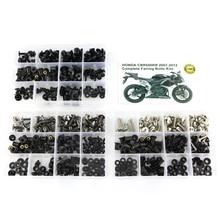 цена на For Honda CBR600RR CBR 600RR 2007 2008-2012 Motorcycle Full Fairing Bolts Kit Washer Fastener Steel Fairing Clips Nuts OEM Style