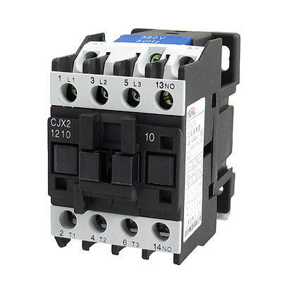 380V Coil Motor Controler AC Contactor 3P 3 Pole NO 660V 20A CJX2-1210 best quality ac contactor cjx2 150 150a 3p used for ac motor