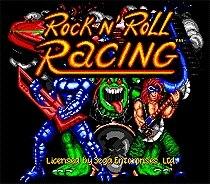 Rock NRoll Racing 16 bit MD Game Card For Sega Mega Drive For Genesis