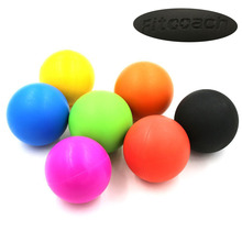 Fitcoach Silicone Ball Lacrosse Balls Trigger Point Massage and Myofascial Release - Good For Stress