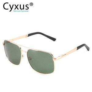 Image 3 - Cyxus  Polarized Sunglass Classic UV 400 Square Shades Men Women with UVA UVB Protection Unisex 1002