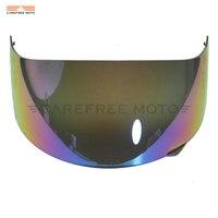 1 Pcs Iridium Motorcycle Full Face Helmet Visor Shield Case for AGV GP Pro S4 Airtech Stealth Q3 Titec
