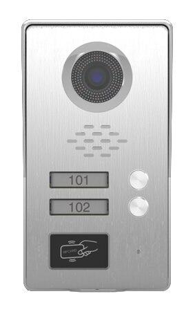 SMTVDP TFT LCD Color Video Door Phone Doorbell IR Intercom Home Security Video System HD FRID Camera w/t ID Card function