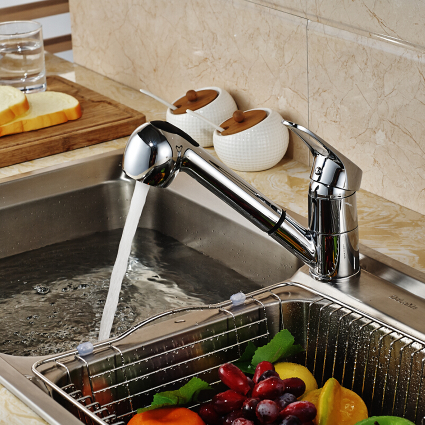Chrome-Pull-Out-Kitchen-Faucet-Deck-Mount-Brass-Kitchen-Mixer-Washing-Taps-Deck-Mounted-Sprayer-Stream (2)
