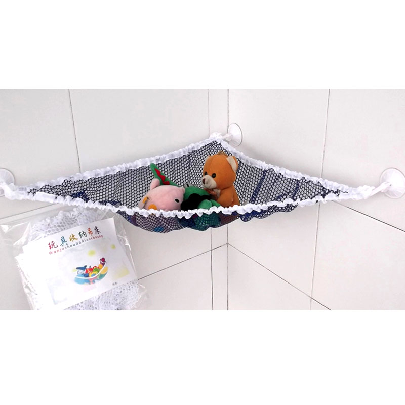 Medium image of bath toy storage bag plush toys hammock children toy collection baby storage hanger nest different size bag basket en1124 in hanging organizers from home